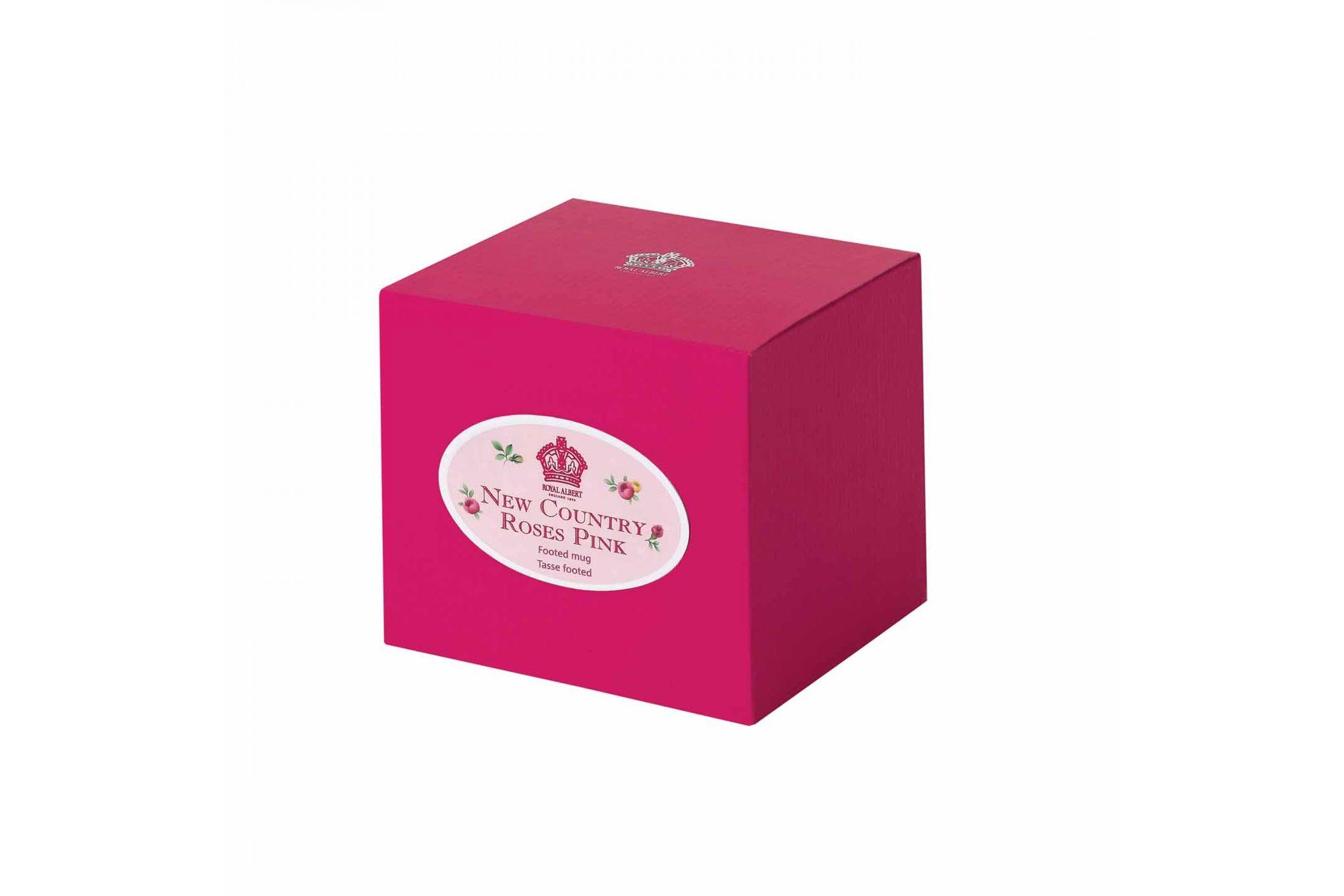 Royal Albert New Country Roses Pink Mug Footed 0.3l thumb 2
