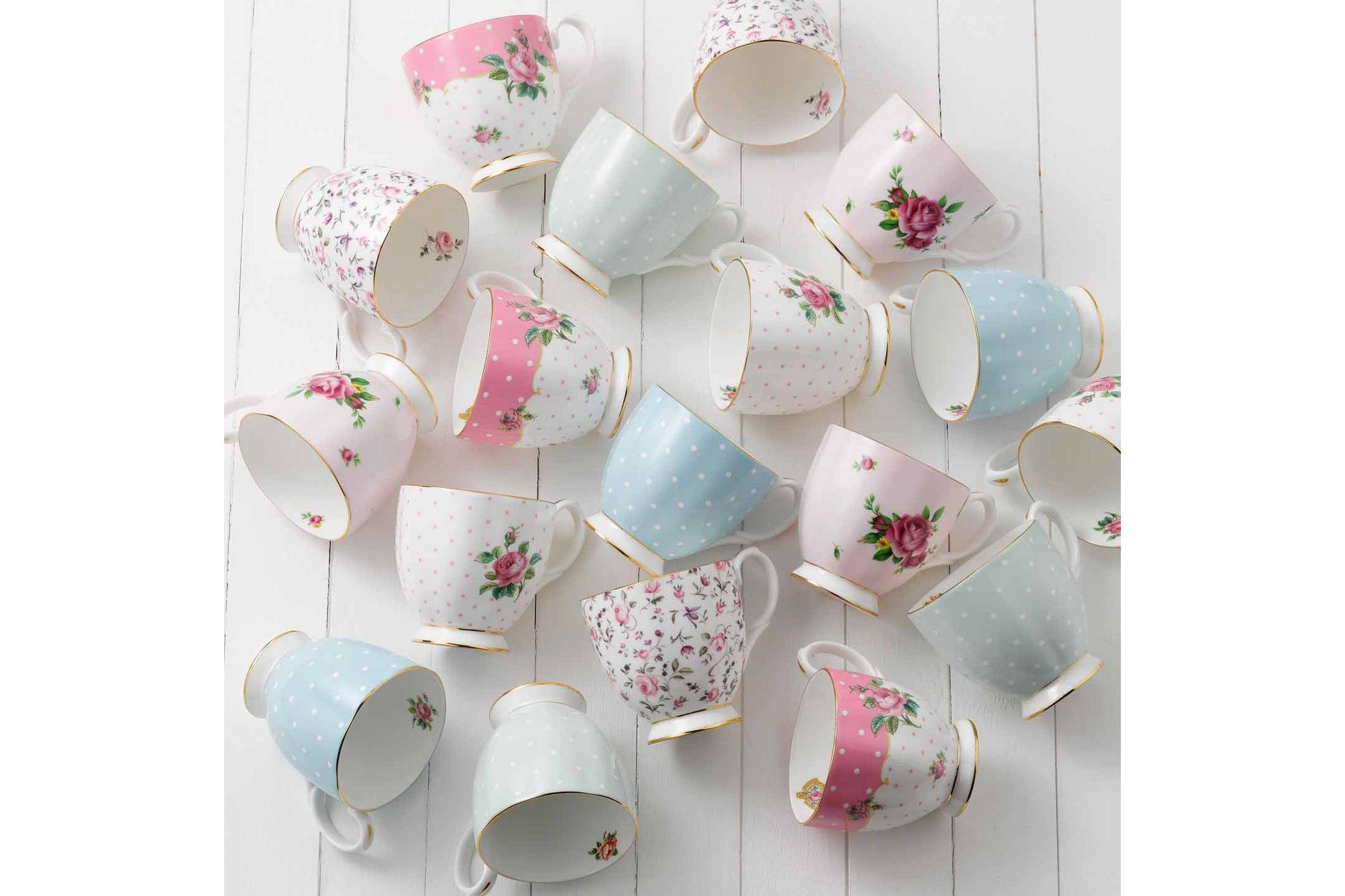 Royal Albert New Country Roses Pink Mug Footed 0.3l thumb 3