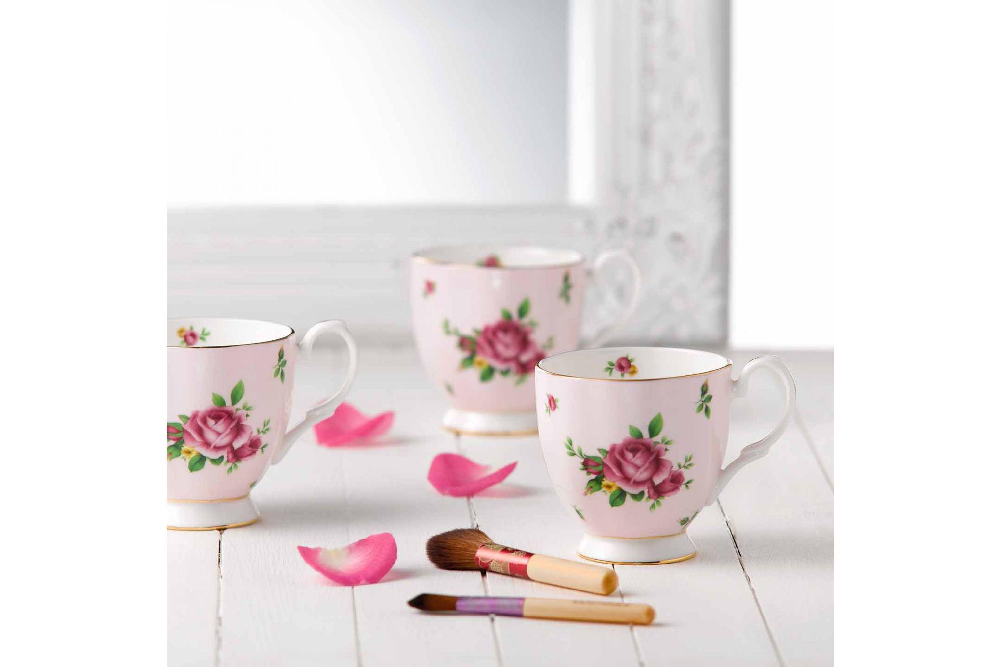 Royal Albert New Country Roses Pink Mug Footed 0.3l thumb 4