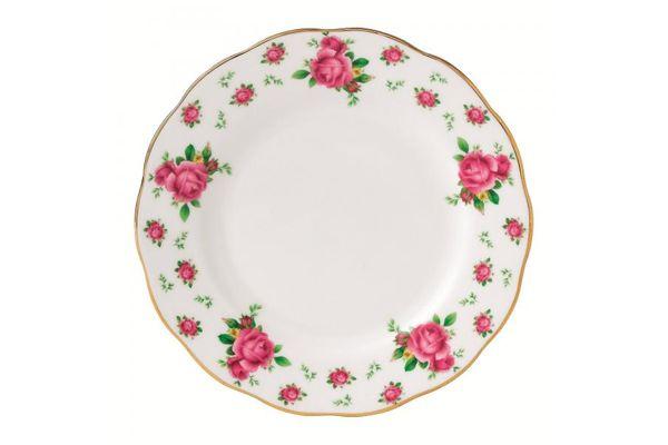 Royal Albert New Country Roses White Tea Plate