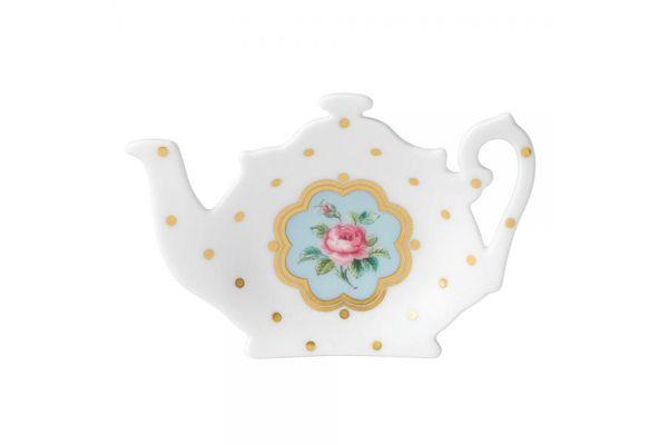 Royal Albert New Country Roses White Tea Bag Tidy