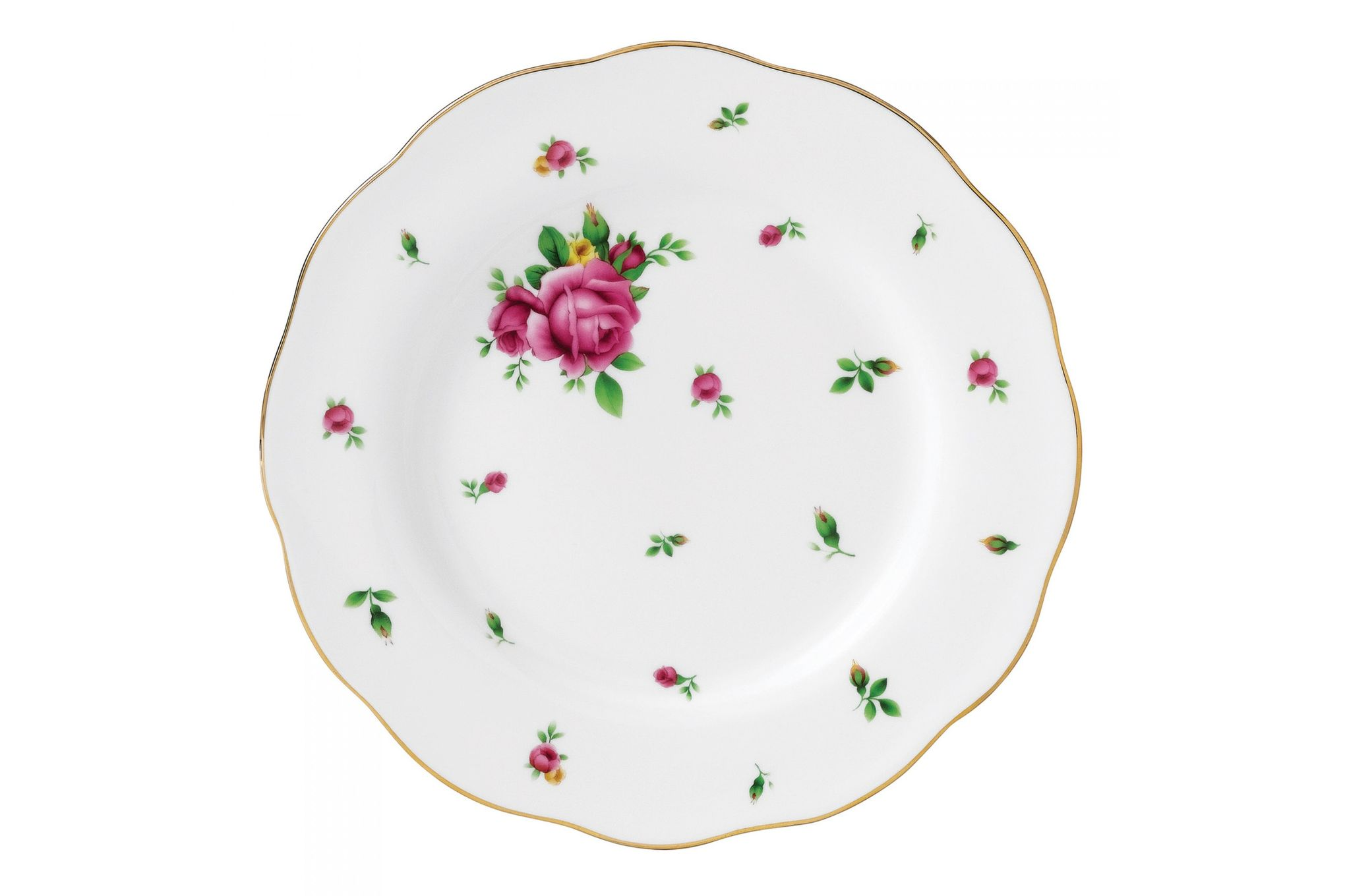 Royal Albert New Country Roses White Side Plate 20cm thumb 1