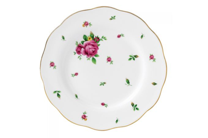 Royal Albert New Country Roses White Side Plate 20cm