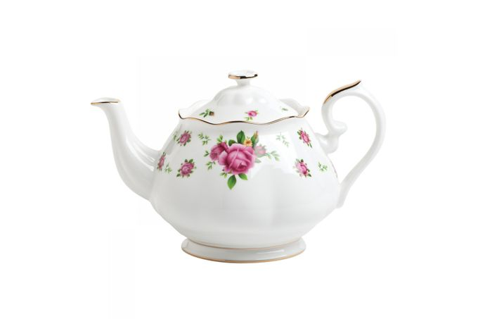 Royal Albert New Country Roses White Teapot 1.25l