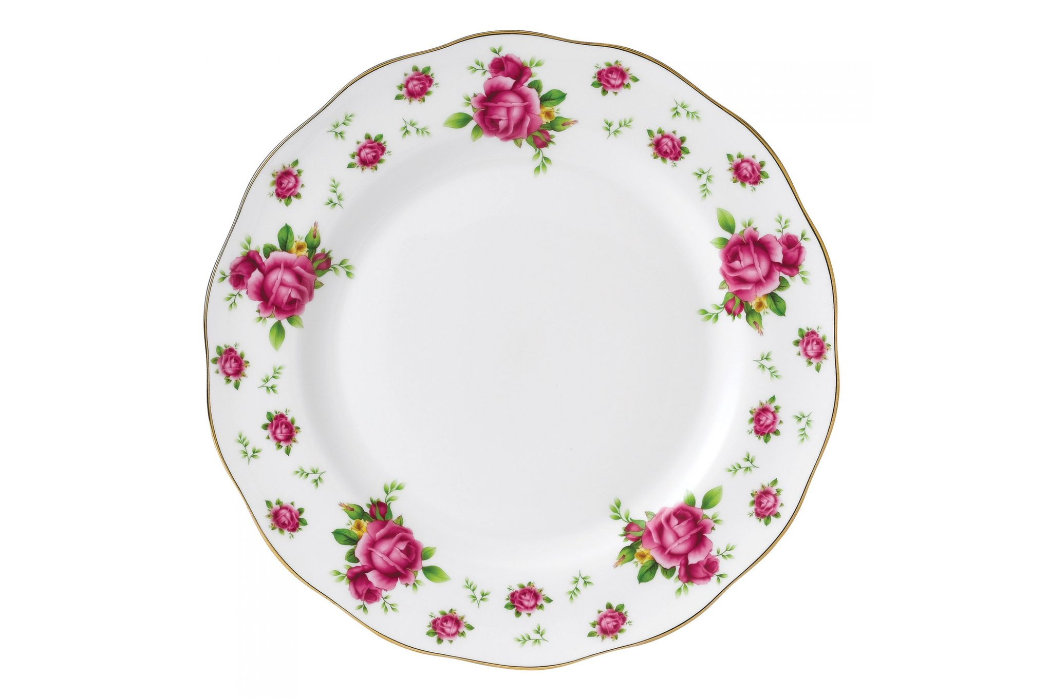 Royal Albert New Country Roses White Dinner Plate 27cm thumb 1