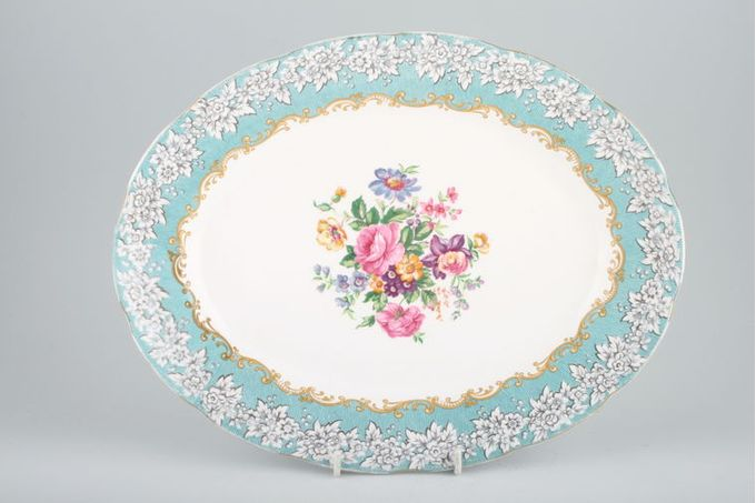 "Royal Albert Enchantment Oval Plate / Platter 15"""