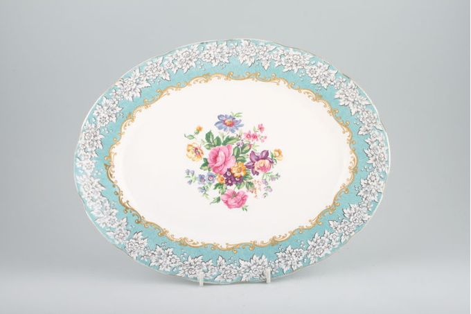 "Royal Albert Enchantment Oval Plate / Platter 13"""