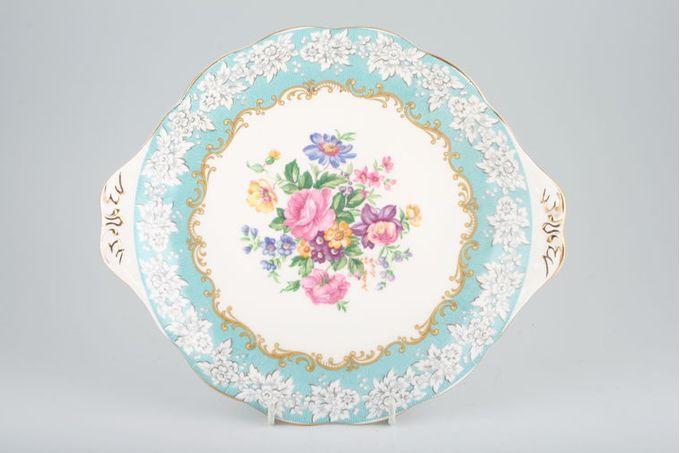 "Royal Albert Enchantment Cake Plate Round, eared 10 1/2"""