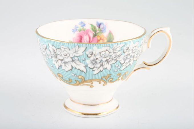 "Royal Albert Enchantment Coffee Cup 3 1/4 x 2 1/4"""
