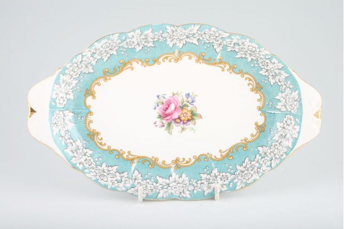"Royal Albert Enchantment Serving Dish Oval - Eared 10 1/4"""