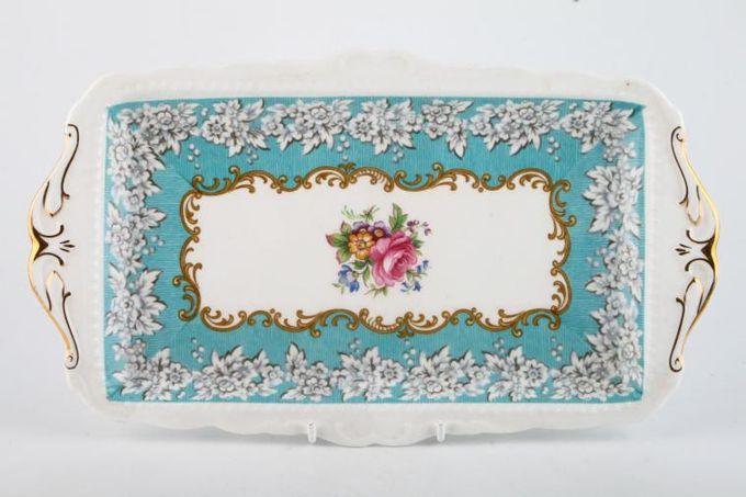 """Royal Albert Enchantment Sandwich Tray 11 1/2 x 6 1/2"""""""
