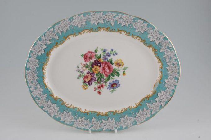 "Royal Albert Enchantment Oval Plate / Platter 12 5/8"""