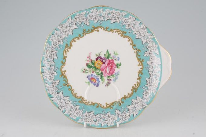 """Royal Albert Enchantment TV Tray Complete with Teacup 8 1/4"""""""