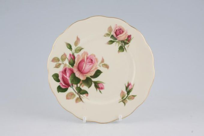 "Royal Albert English Beauty Tea / Side / Bread & Butter Plate Cream 6 1/4"""