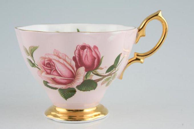"Royal Albert English Beauty Teacup Scalloped edge- Pink 3 1/2 x 2 3/4"""