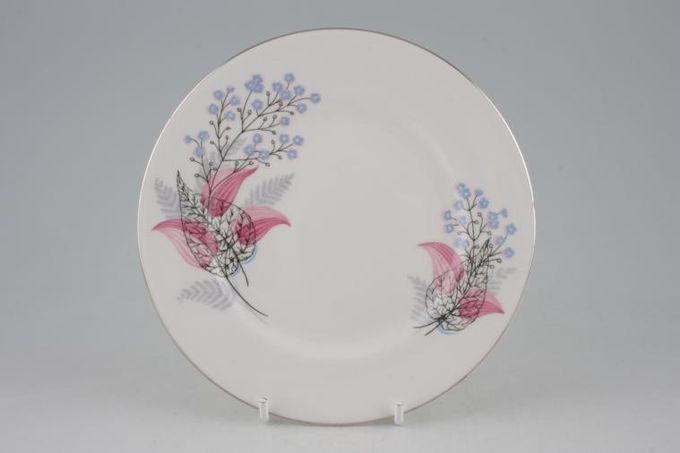 """Royal Albert Fancy Free Tea / Side / Bread & Butter Plate Plain Edge 6 1/4"""""""