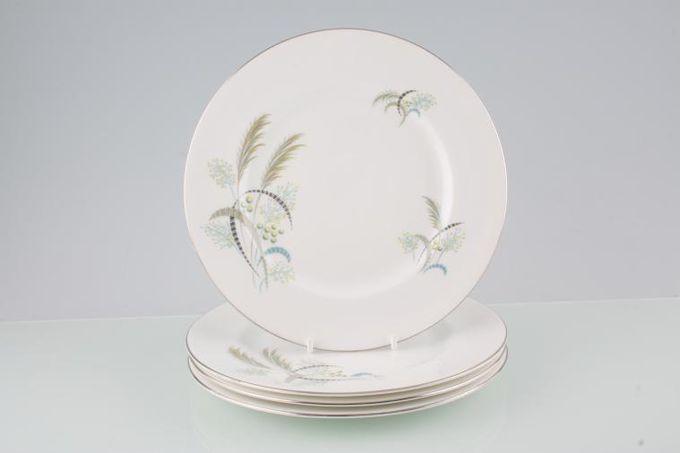 """Royal Albert Festival Starter / Salad / Dessert Plates - Set of 4 8 1/4"""""""