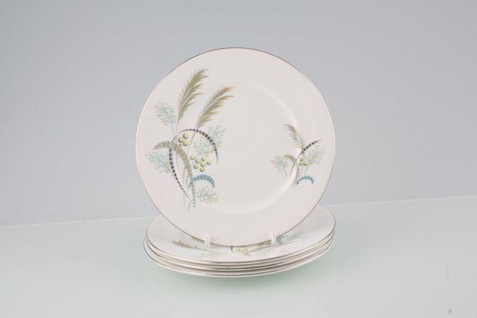 """Royal Albert Festival Tea / Side / Bread & Butter Plates - Set of 4 6 1/4"""""""