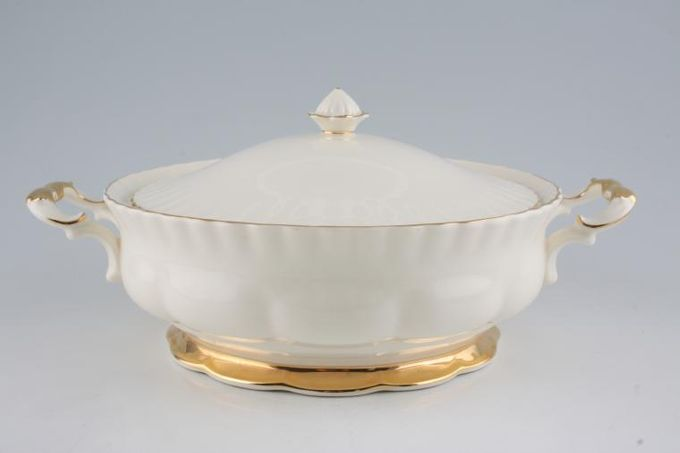 Royal Albert Affinity Gold Vegetable Tureen with Lid