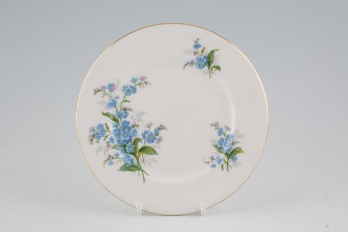 Royal Albert Forget-me-Not Tea / Side / Bread & Butter Plate Smooth Rim 6 1/4""