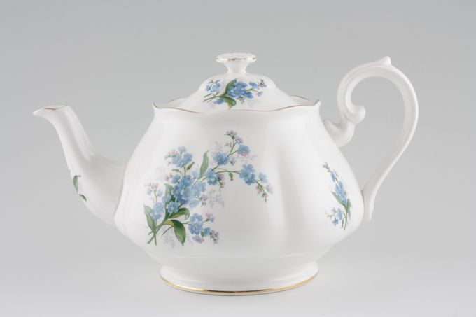Royal Albert Forget-me-Not Teapot 2 1/4pt