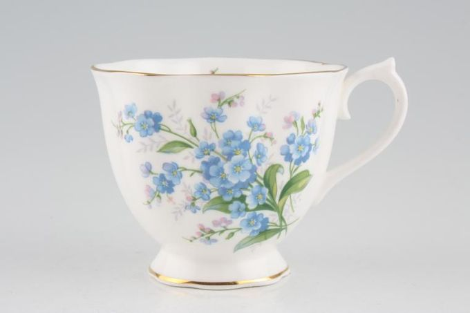 Royal Albert Forget-me-Not Teacup 3 1/4 x 2 3/4""