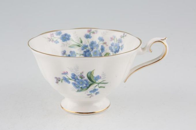 Royal Albert Forget-me-Not Teacup 3 7/8 x 2 3/8""