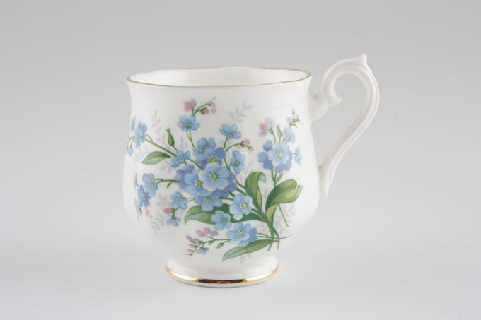 Royal Albert Forget-me-Not Coffee Cup 2 1/4 x 2 1/2""
