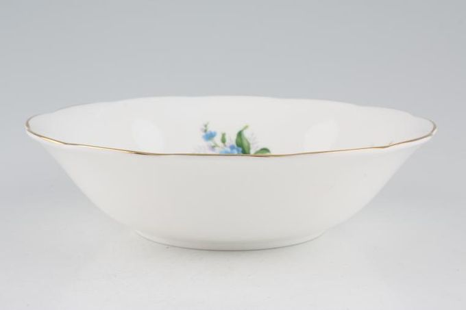 Royal Albert Forget-me-Not Oatmeal / Cereal / Soup 6 3/8""