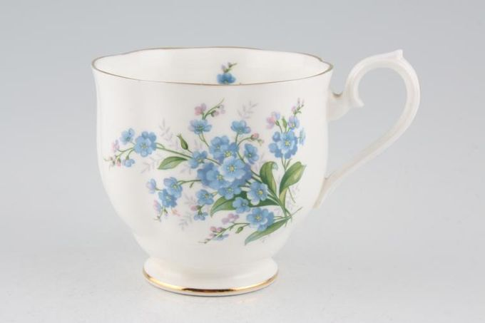 Royal Albert Forget-me-Not Teacup 3 3/8 x 3 1/8""