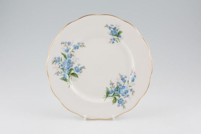 "Royal Albert Forget-me-Not Starter / Salad / Dessert Plate 8"""