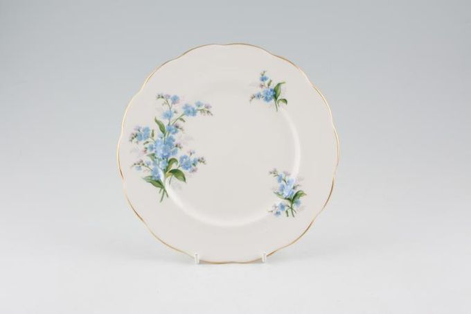 Royal Albert Forget-me-Not Tea / Side / Bread & Butter Plate 7 1/4""
