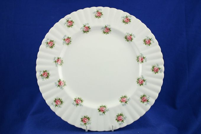 Royal Albert Forget Me Not Rose Dinner Plate 10 1/2""