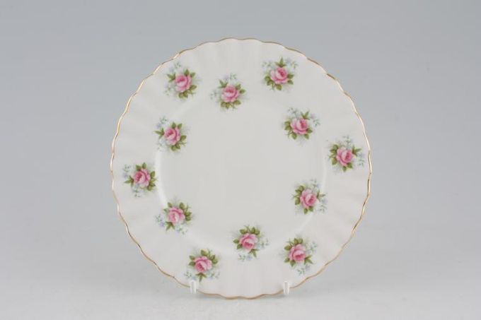 Royal Albert Forget Me Not Rose Tea / Side / Bread & Butter Plate 6 1/4""