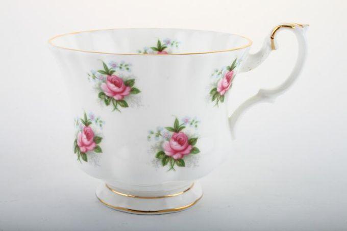 "Royal Albert Forget Me Not Rose Teacup 3 3/8 x 2 3/4"""