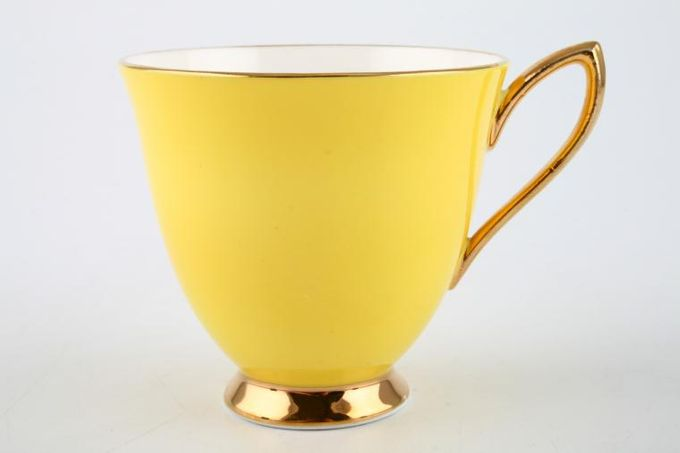 "Royal Albert Gaiety Coffee Cup Yellow 3 x 2 3/4"""
