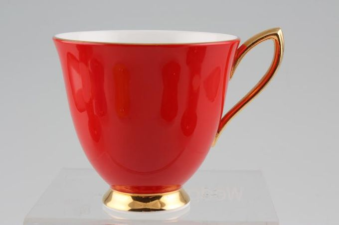 Royal Albert Gaiety Coffee Cup Red 3 x 2 3/4""