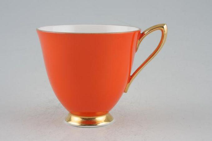 "Royal Albert Gaiety Coffee Cup Orange 3 x 2 3/4"""