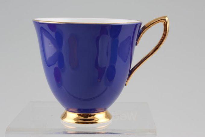 "Royal Albert Gaiety Coffee Cup Blue 3 x 2 3/4"""