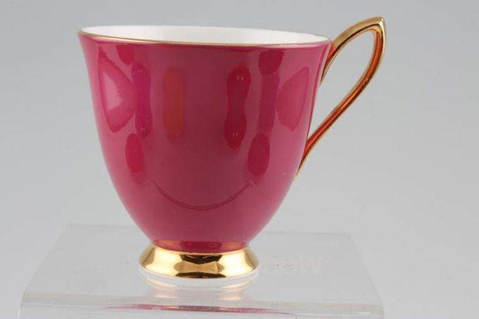 "Royal Albert Gaiety Coffee Cup Pink 3 x 2 3/4"""