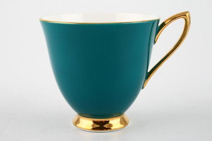 """Royal Albert Gaiety Coffee Cup Jade 3 x 2 3/4"""""""