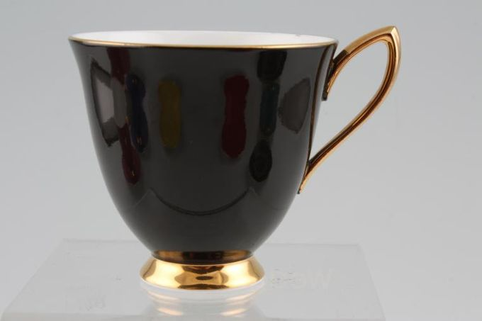 Royal Albert Gaiety Coffee Cup Black 3 x 2 3/4""