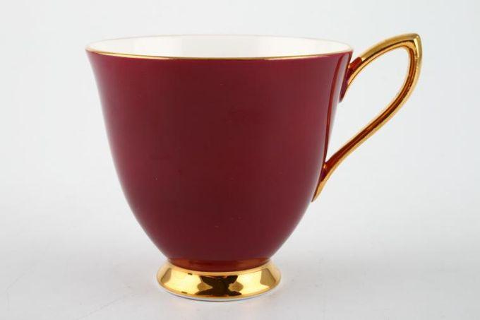 "Royal Albert Gaiety Coffee Cup Maroon 3 x 2 3/4"""