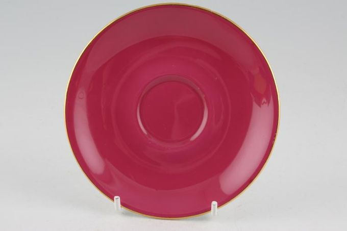 Royal Albert Gaiety Coffee Saucer Pink 4 7/8""