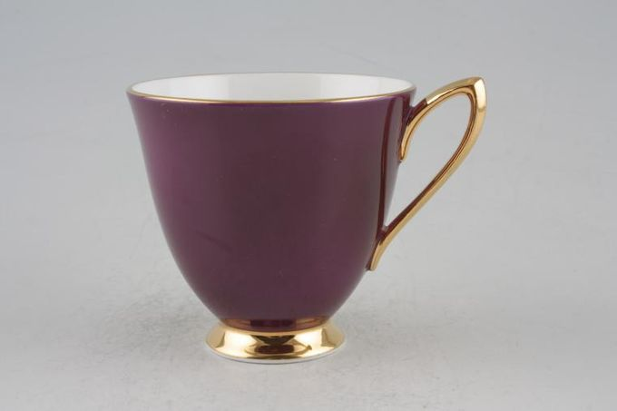 Royal Albert Gaiety Coffee Cup Purple 3 x 2 3/4""