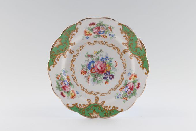 "Royal Albert Albany - Green Tea / Side / Bread & Butter Plate 6 1/2"""