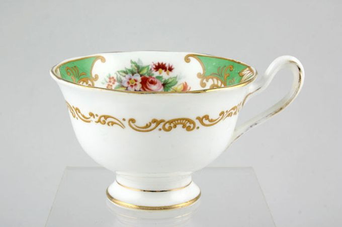 "Royal Albert Albany - Green Teacup 3 3/4 x 2 1/2"""