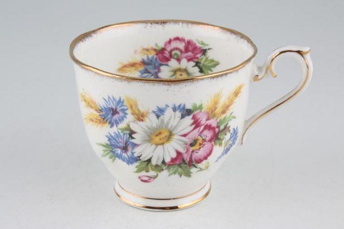 """Royal Albert Harvest Bouquet Teacup 3 1/2 x 2 3/4"""""""