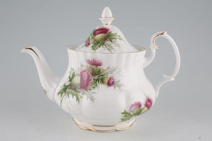 Royal Albert Highland Thistle Teapot 1 1/2pt