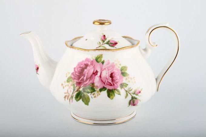 Royal Albert American Beauty Teapot 1 1/2pt